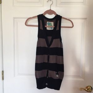 Cotton Striped Vest